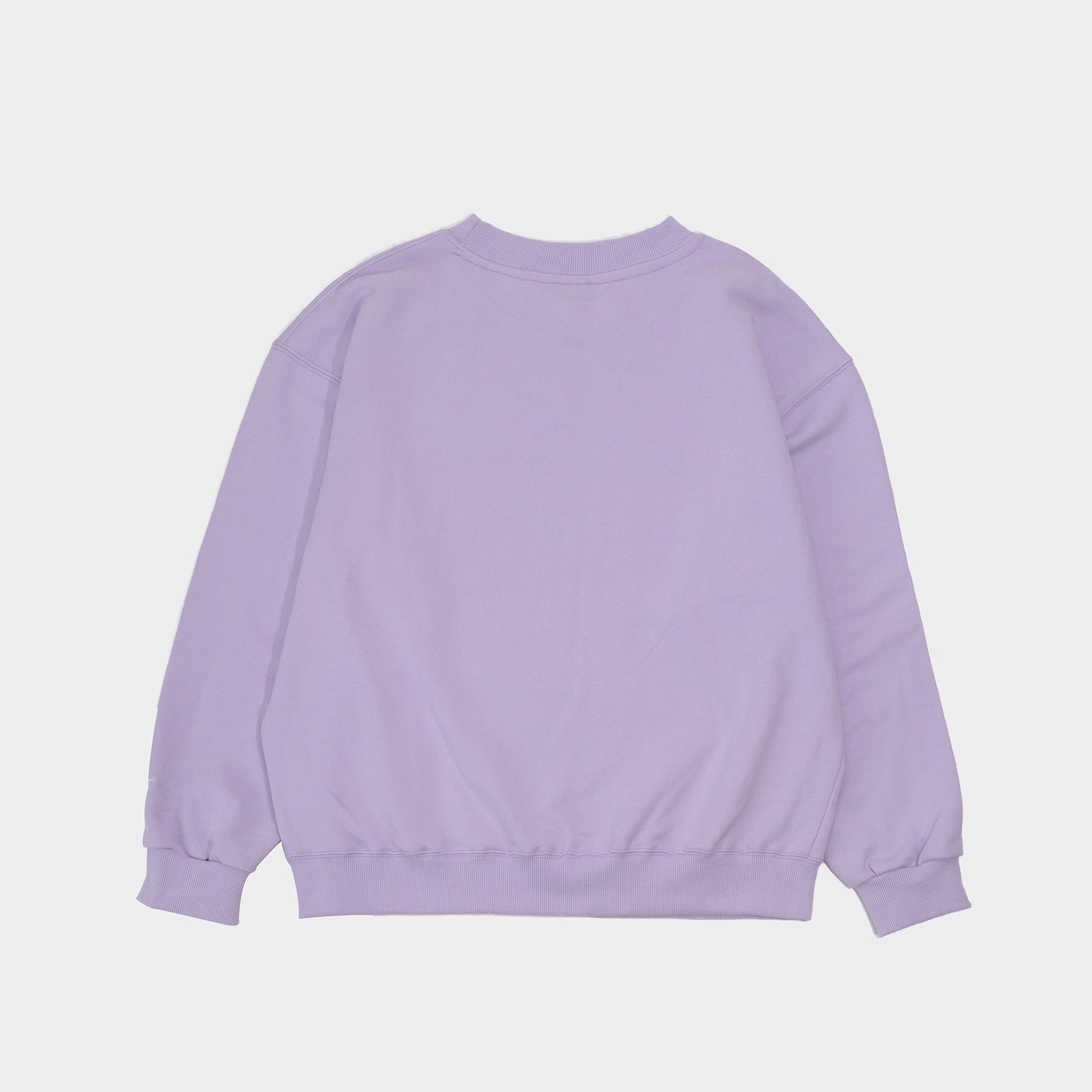 Title sweatshirt(Oversize fit) Lavender
