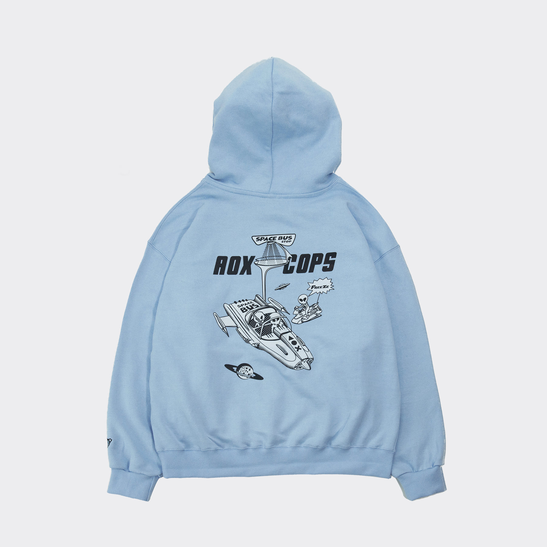 Freeze Hoodie(Oversize fit) Sky Blue
