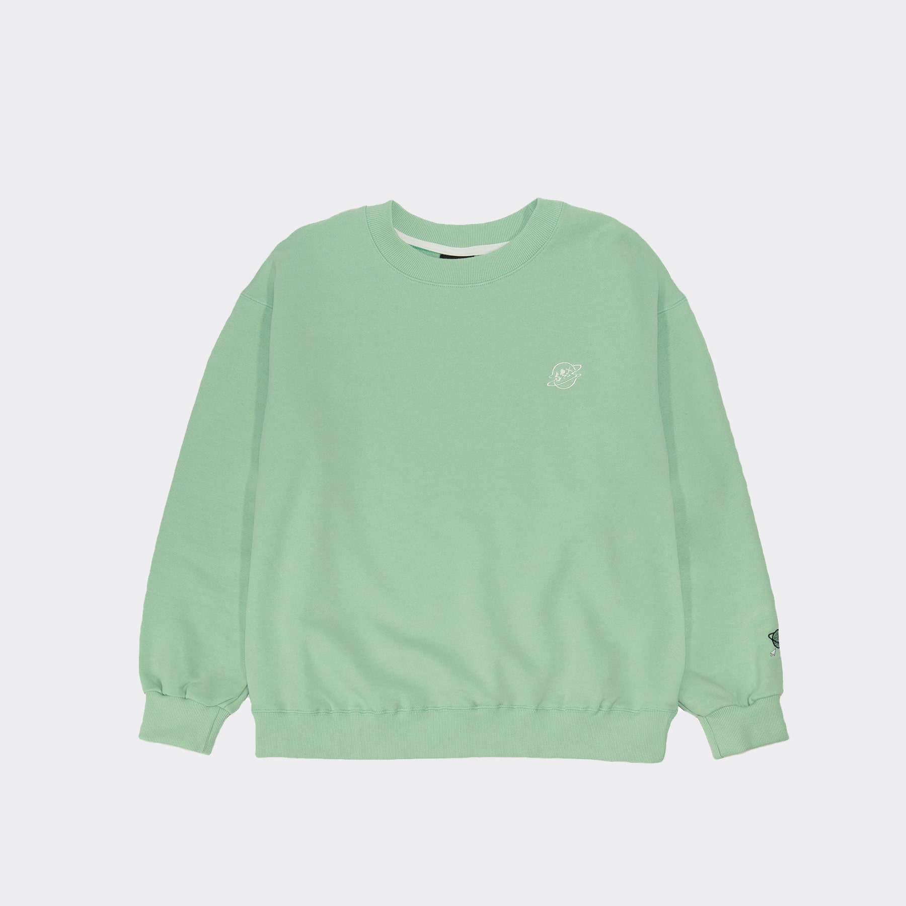 SONIC DASH sweatshirt(Oversize fit) Mint