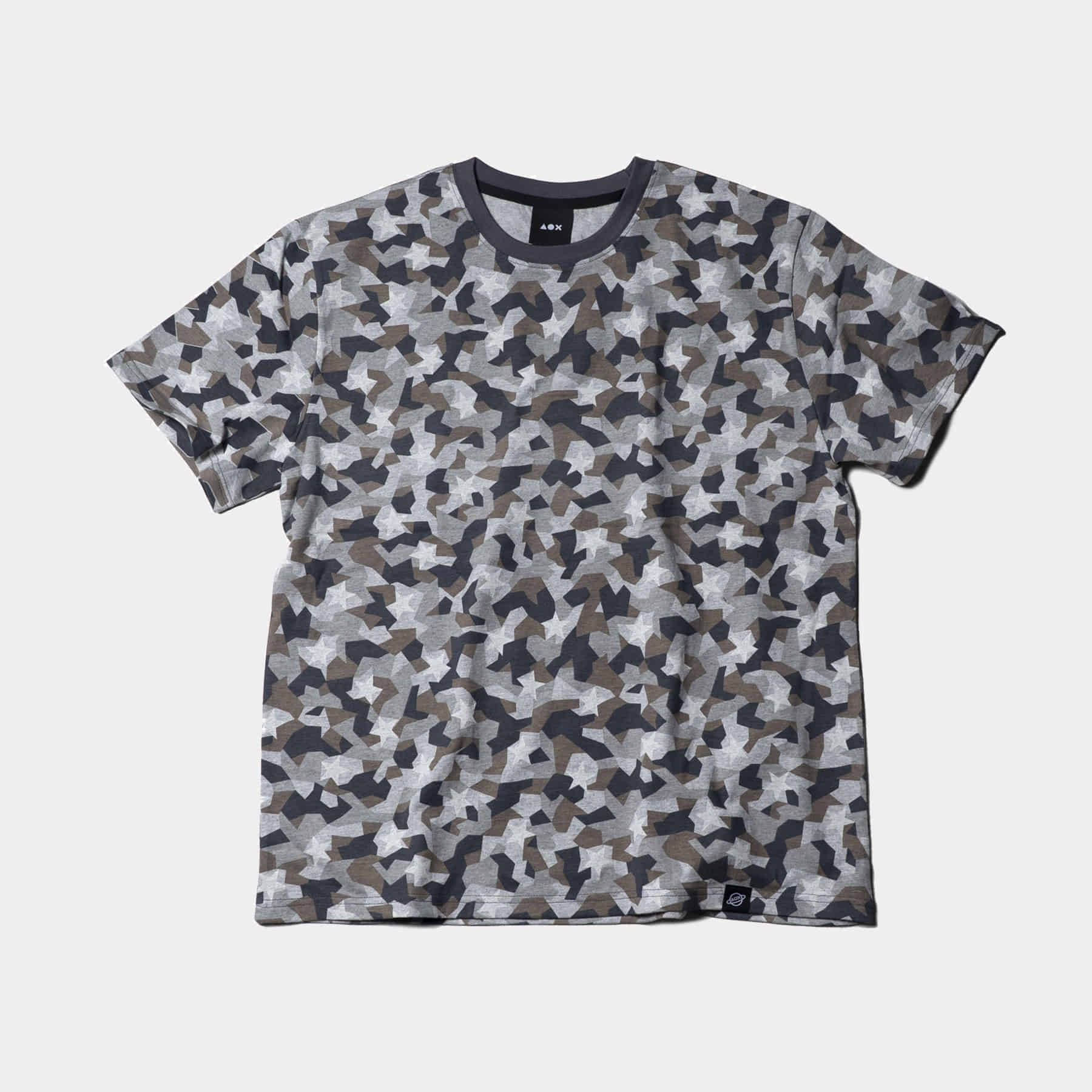 Star camo t-shirt(Grey)