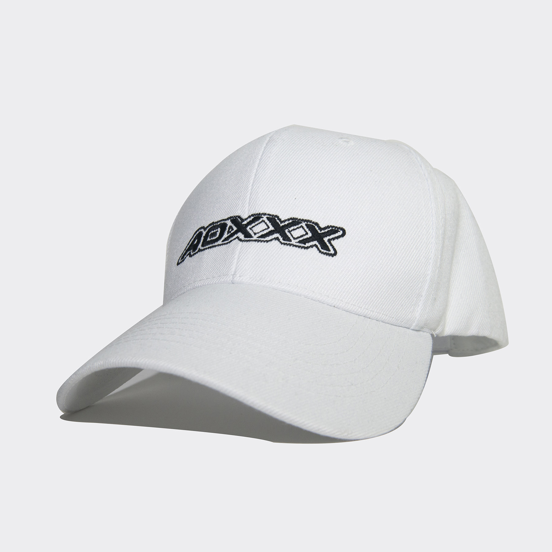Sporty logo baseball cap (White)
