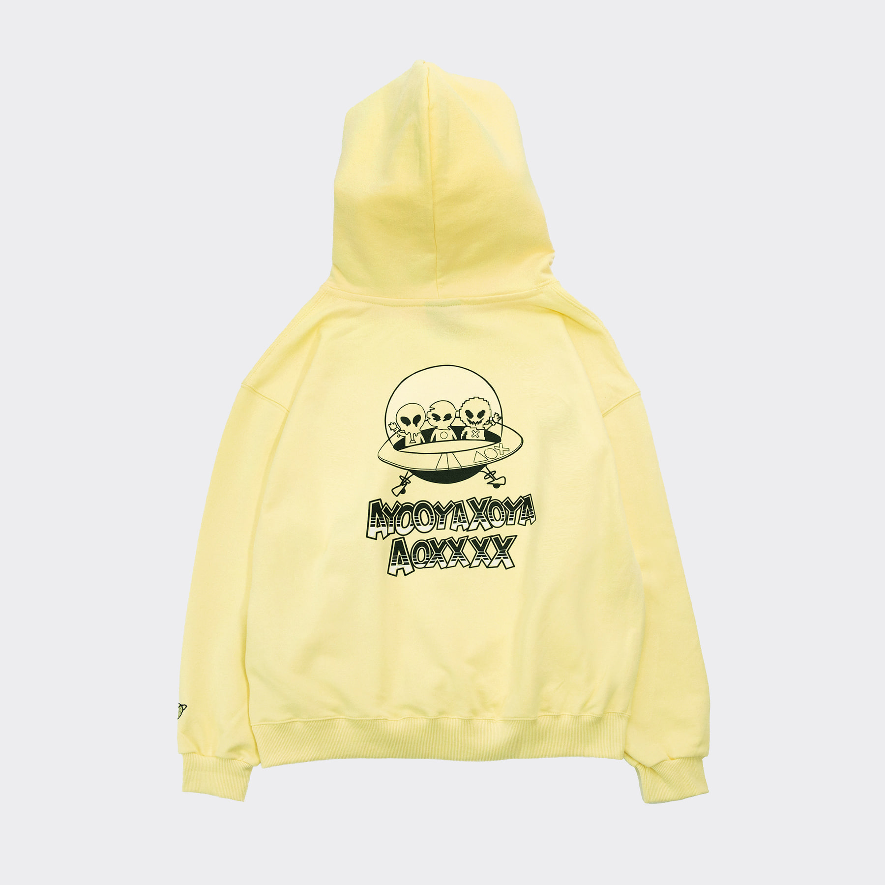 CARTOON Hoodie(Oversize fit) Yellow