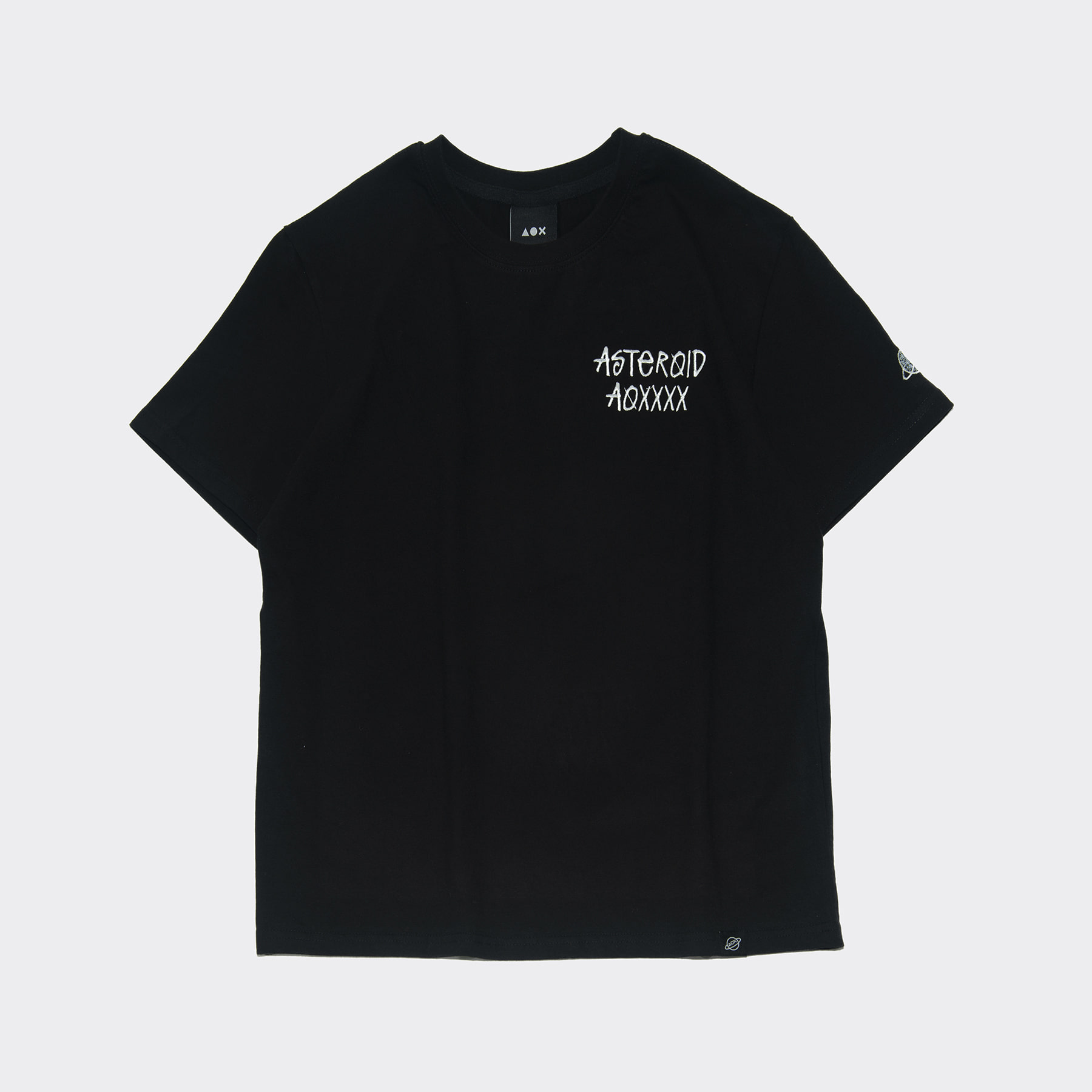 Our sector short sleeve T-shirts(Standard fit) Black