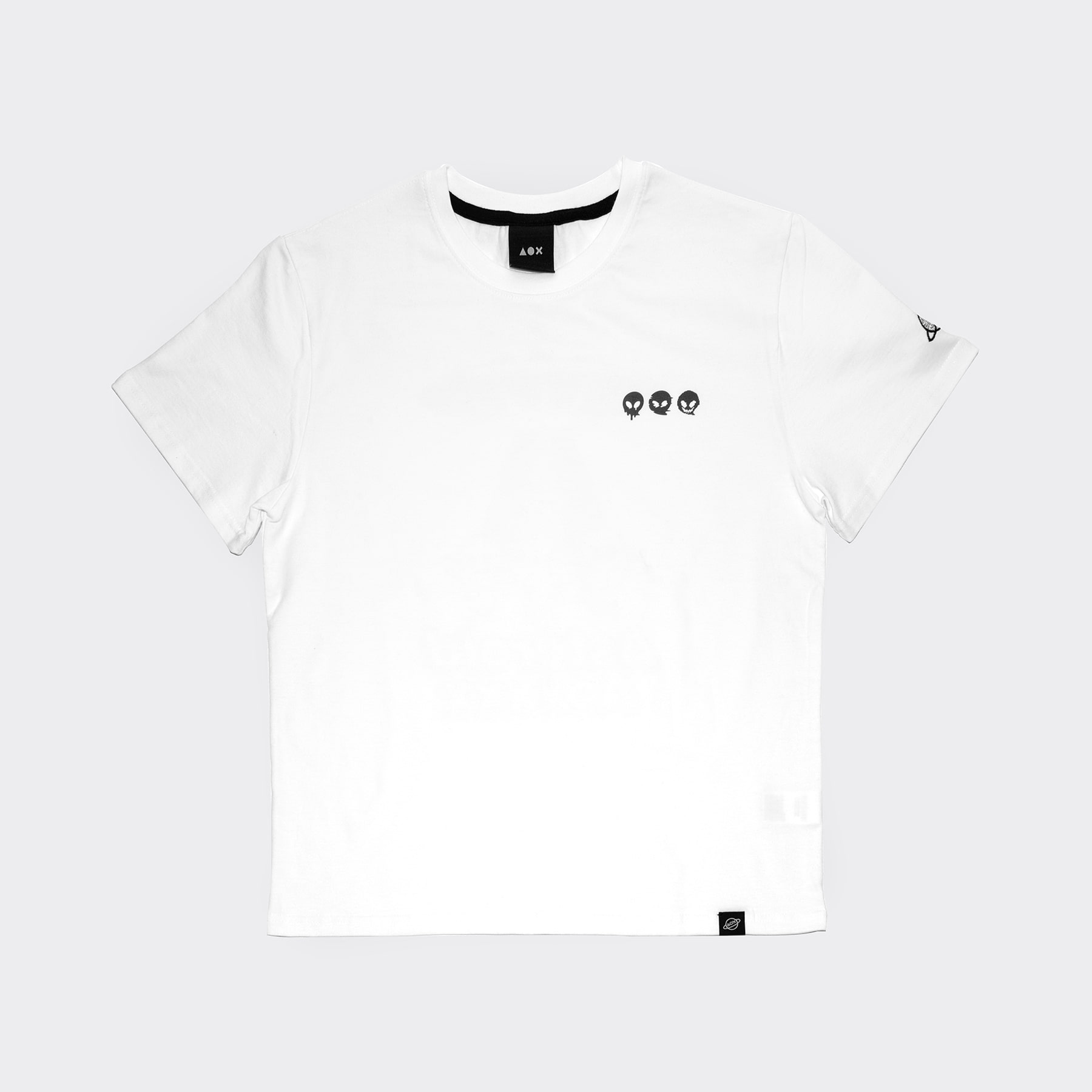 Asteroid3 short sleeve T-shirts(Standard fit) White