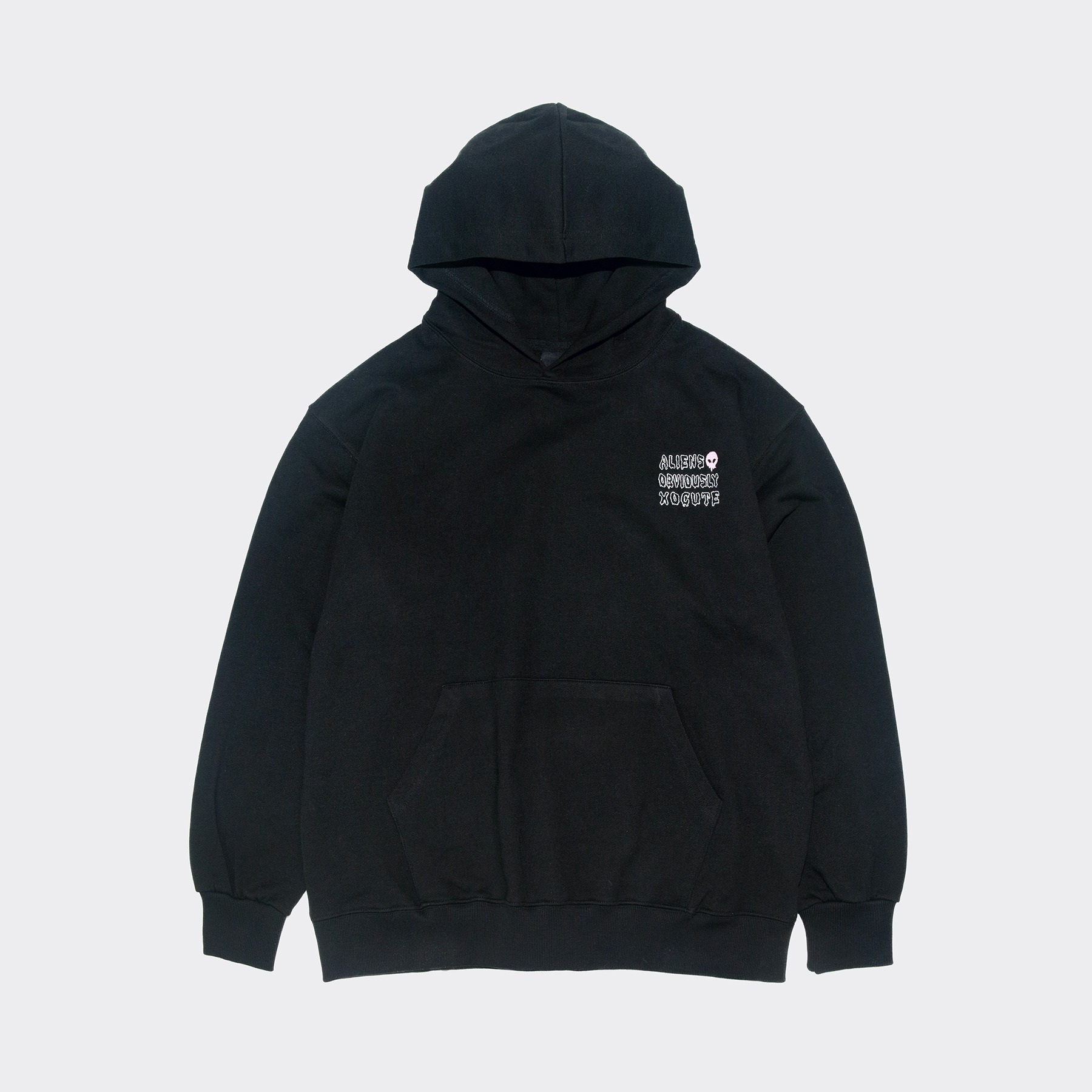 OBVIOUSLY Hoodie(Oversize fit) Black